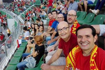 Partido España 6x0 Croacia